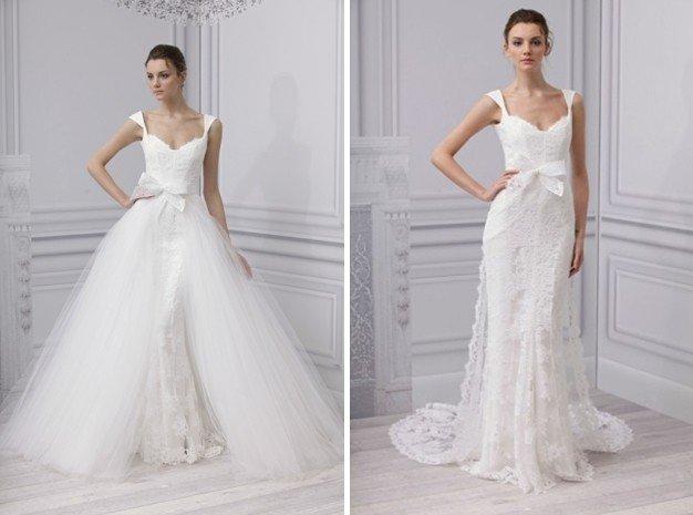 Портал Свадьбаголик.ru представляет вашему вниманию подборку фотографий свадебных платьев-трансформеров, которые помогут вам создавать самые разные
