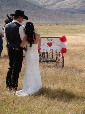 Свадьба в стиле кантри или джинсовая