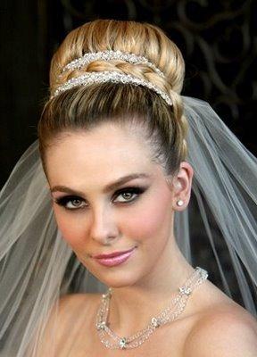 Свадебные прически для невесты и