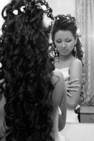 Красивые свадебные прически нелегкий