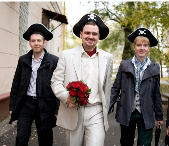 Конкурсы на выкупе невесты в морском стиле