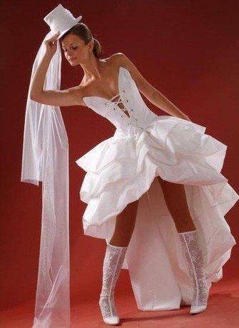 187; фиолетовое свадебное платье фото