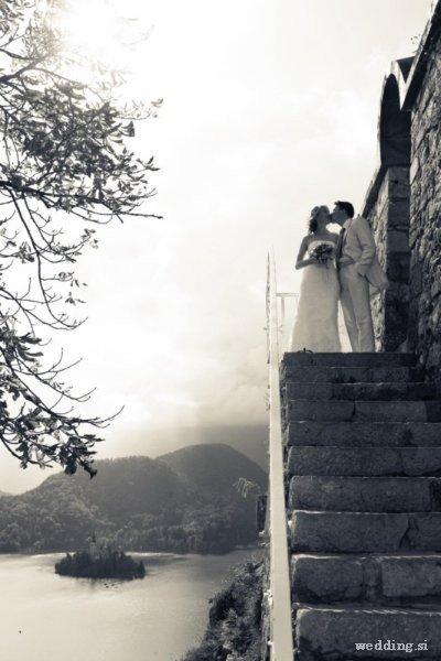 svadba v zamke Bled