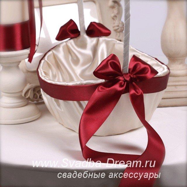 Свадебная корзинки своими руками