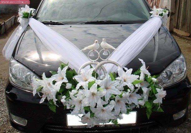 Украшение для свадебных машин своими руками фото